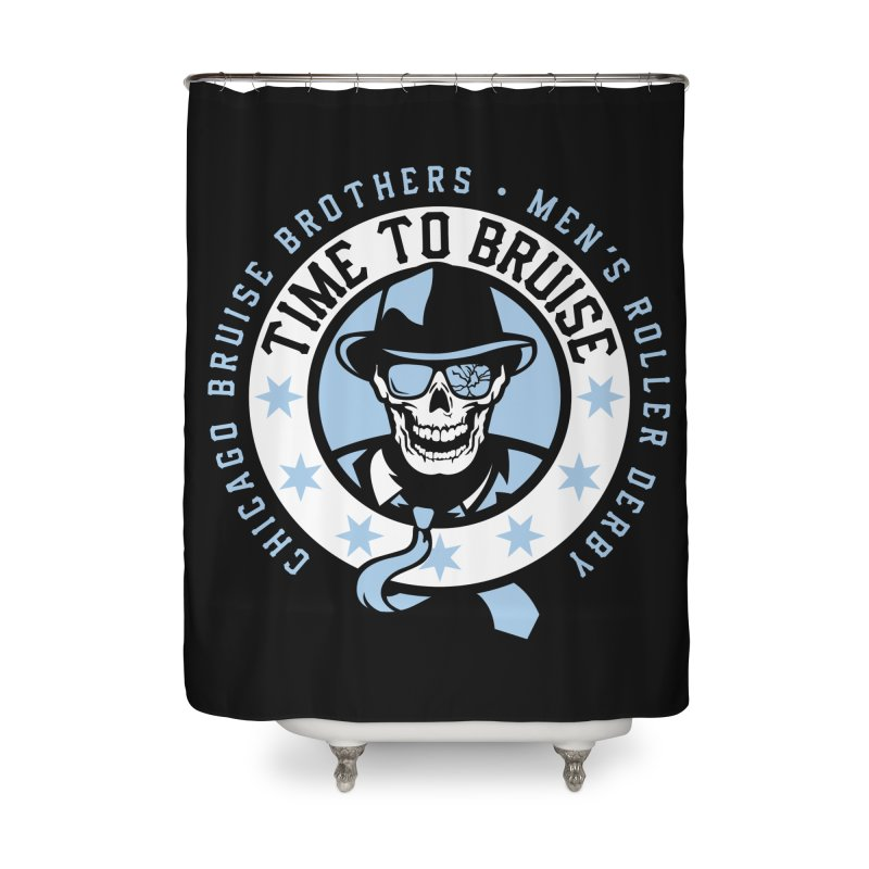 Do Work Home Shower Curtain by Chicago Bruise Brothers Roller Derby