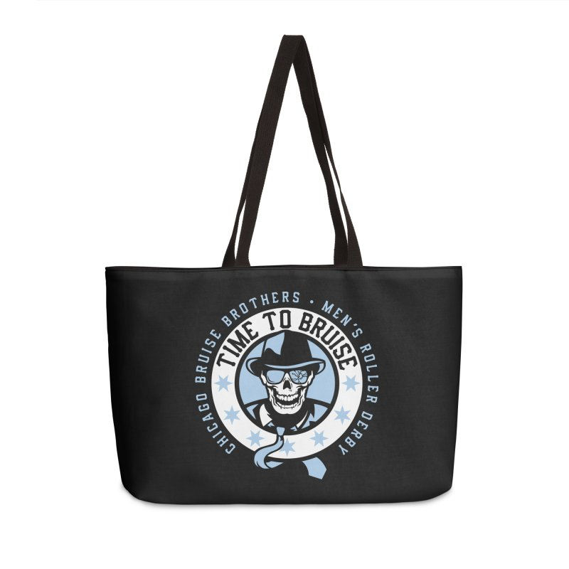 Do Work Accessories Weekender Bag Bag by Chicago Bruise Brothers Roller Derby