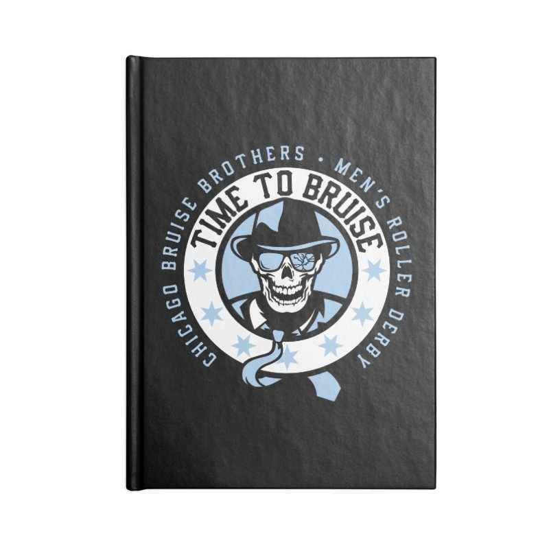 Do Work Accessories Blank Journal Notebook by Chicago Bruise Brothers Roller Derby