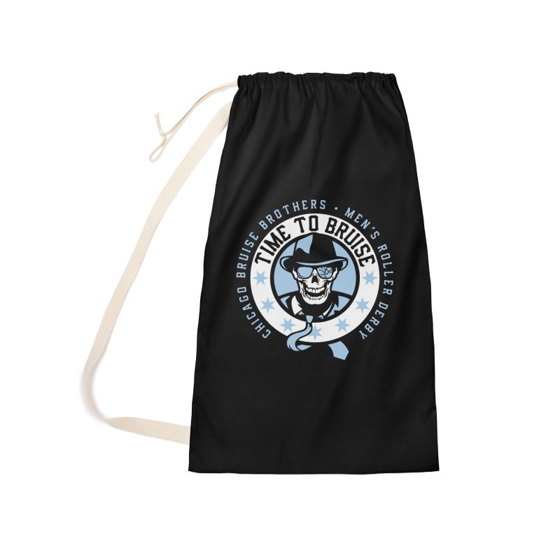 Do Work Accessories Laundry Bag Bag by Chicago Bruise Brothers Roller Derby