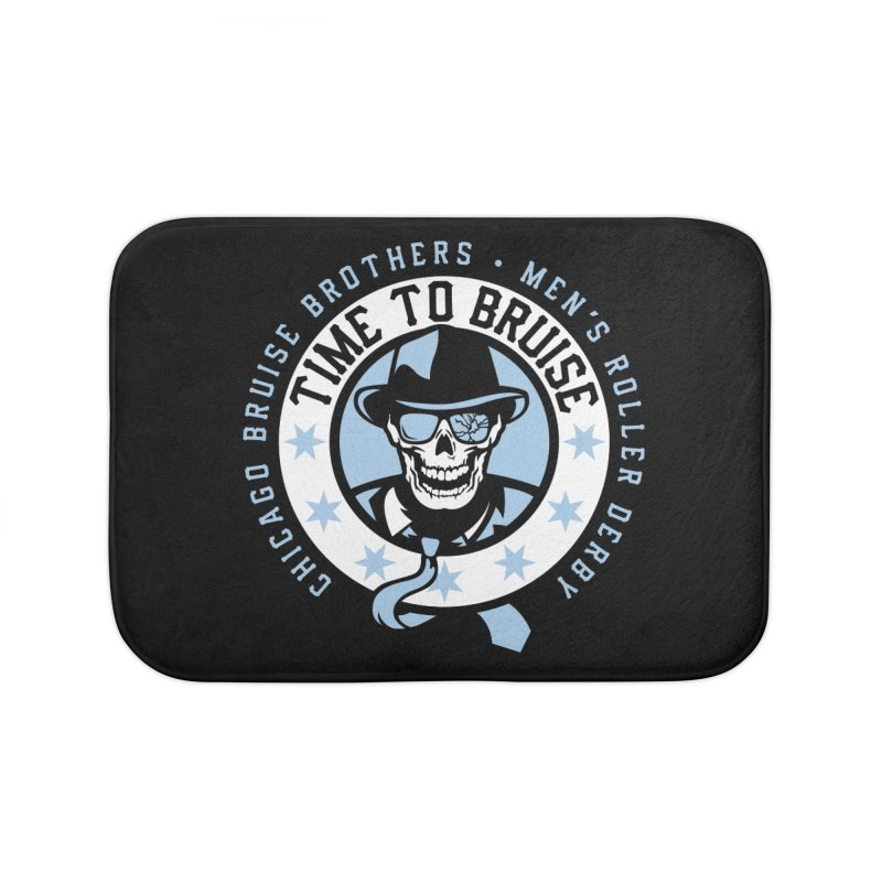 Do Work Home Bath Mat by Chicago Bruise Brothers Roller Derby