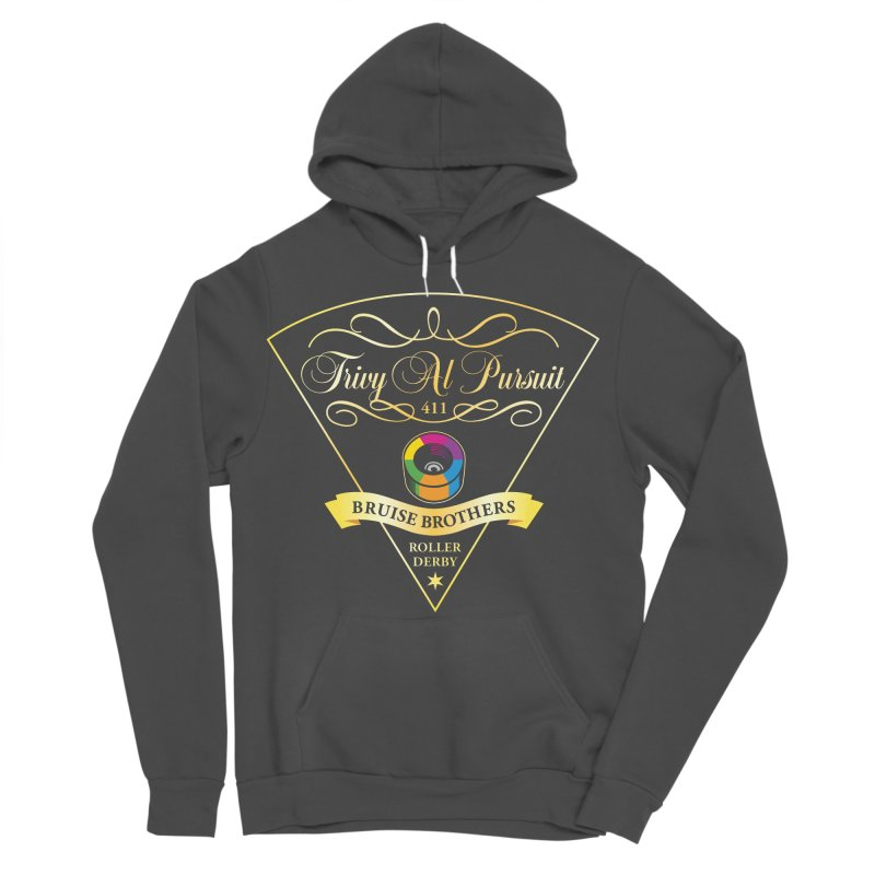 Skater Series: Trivy Al Pursuit Women's Sponge Fleece Pullover Hoody by Chicago Bruise Brothers Roller Derby