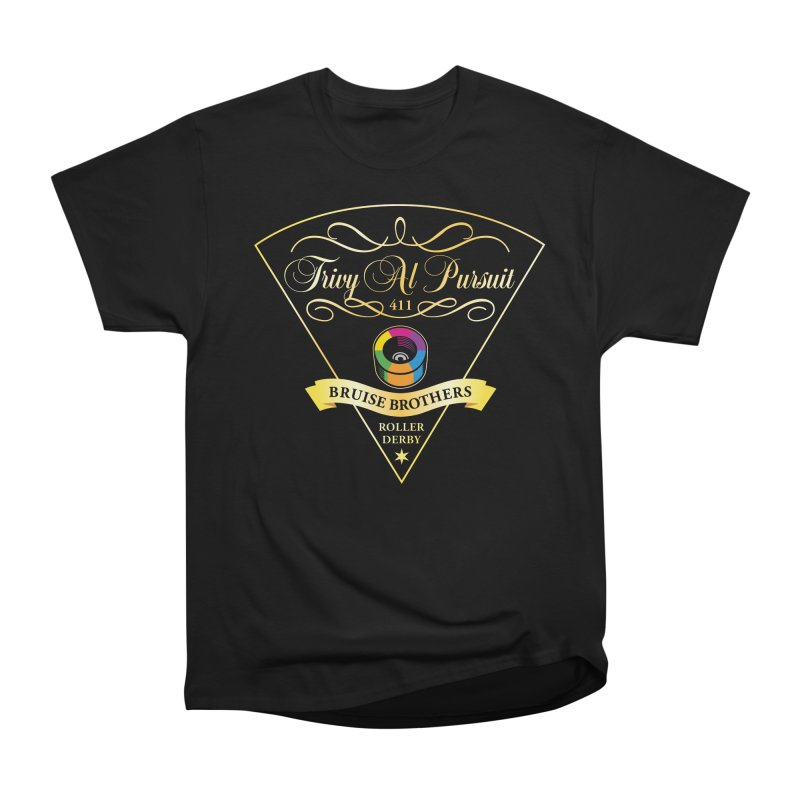 Skater Series: Trivy Al Pursuit Men's T-Shirt by Chicago Bruise Brothers Roller Derby
