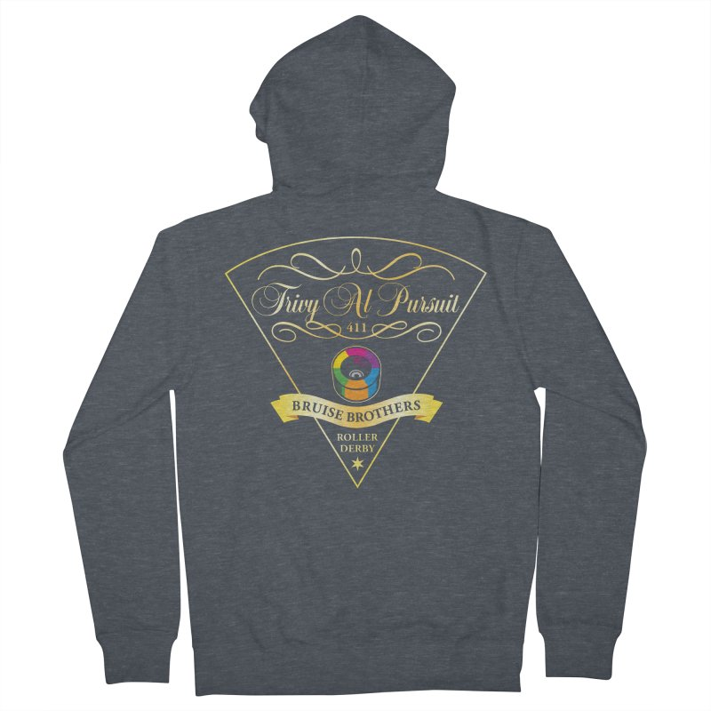 Skater Series: Trivy Al Pursuit Women's French Terry Zip-Up Hoody by Chicago Bruise Brothers Roller Derby