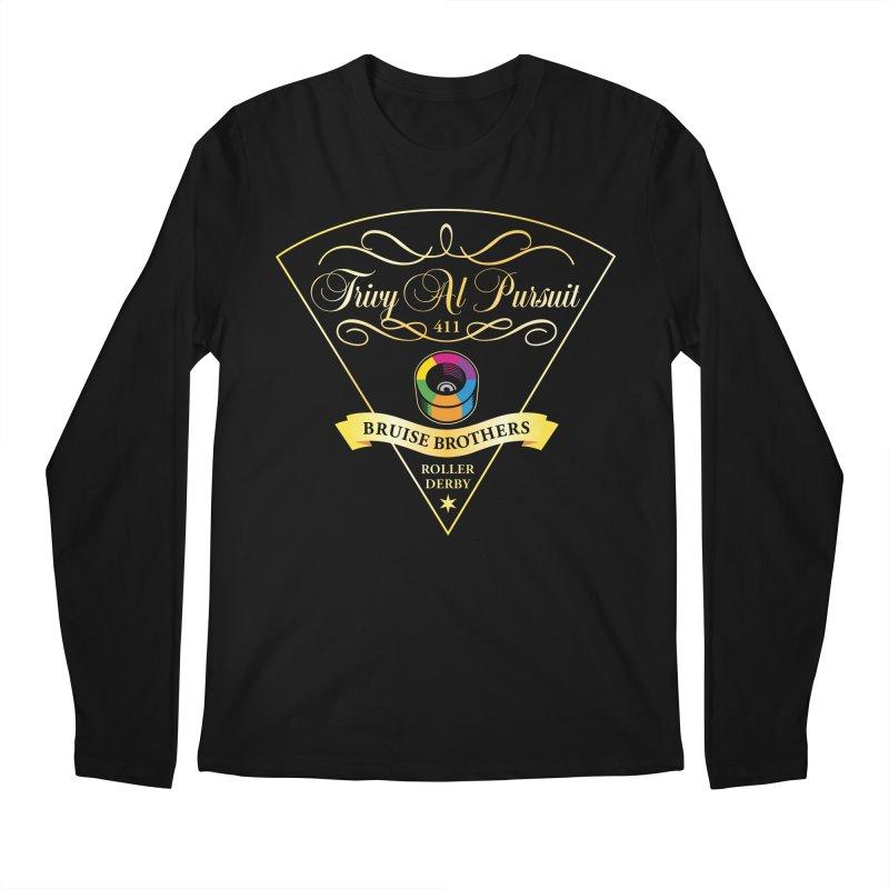 Skater Series: Trivy Al Pursuit Men's Regular Longsleeve T-Shirt by Chicago Bruise Brothers Roller Derby