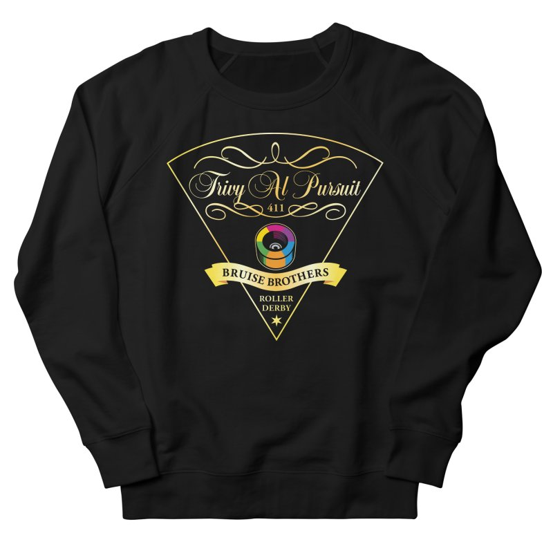 Skater Series: Trivy Al Pursuit Men's French Terry Sweatshirt by Chicago Bruise Brothers Roller Derby