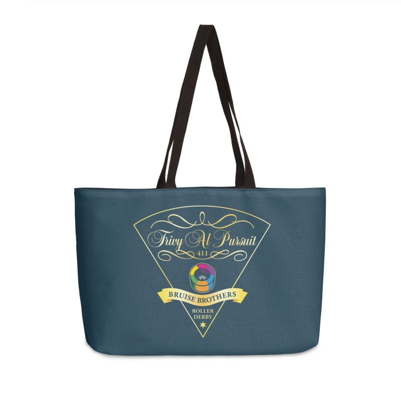 Skater Series: Trivy Al Pursuit Accessories Weekender Bag Bag by Chicago Bruise Brothers Roller Derby