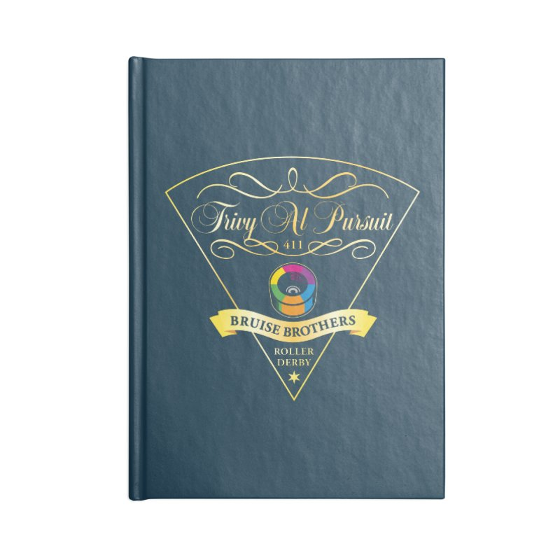 Skater Series: Trivy Al Pursuit Accessories Lined Journal Notebook by Chicago Bruise Brothers Roller Derby
