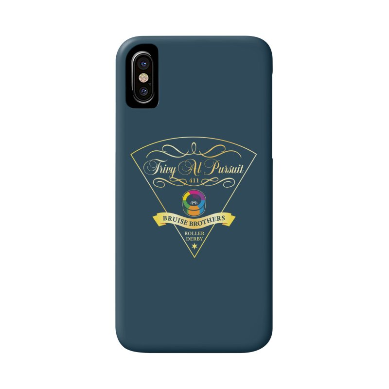 Skater Series: Trivy Al Pursuit Accessories Phone Case by Chicago Bruise Brothers Roller Derby