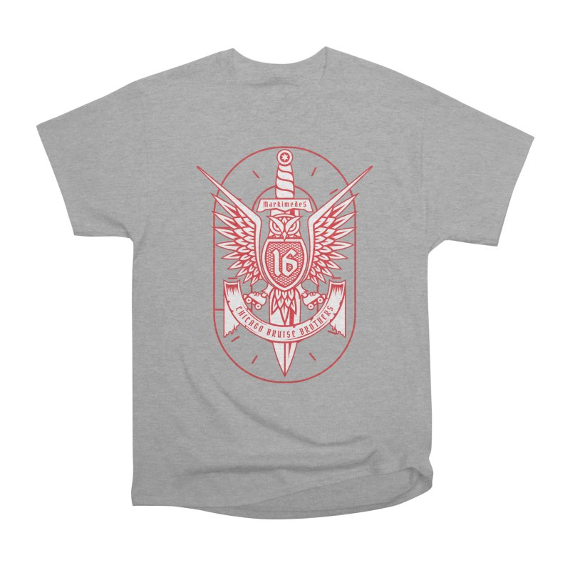 Skater Series: Markimedes Women's Heavyweight Unisex T-Shirt by Chicago Bruise Brothers Roller Derby