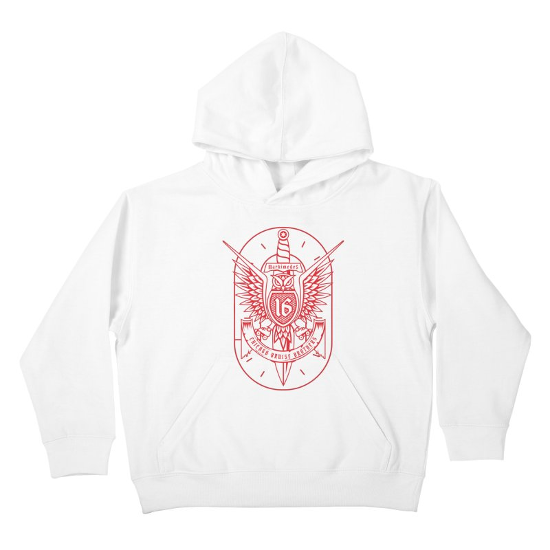 Skater Series: Markimedes Kids Pullover Hoody by Chicago Bruise Brothers Roller Derby