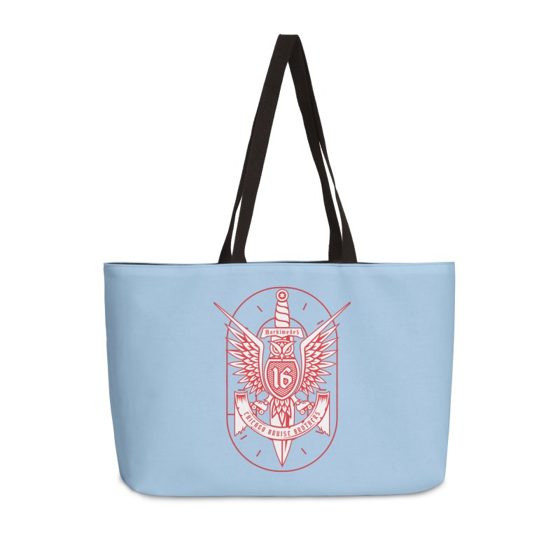 Skater Series: Markimedes Accessories Weekender Bag Bag by Chicago Bruise Brothers Roller Derby