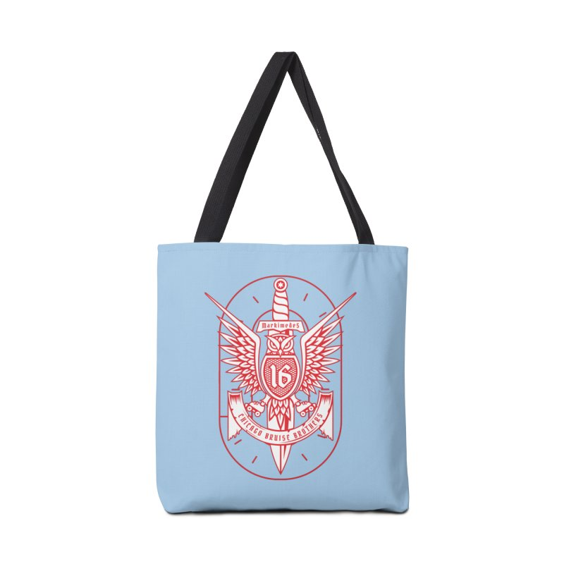 Skater Series: Markimedes Accessories Tote Bag Bag by Chicago Bruise Brothers Roller Derby
