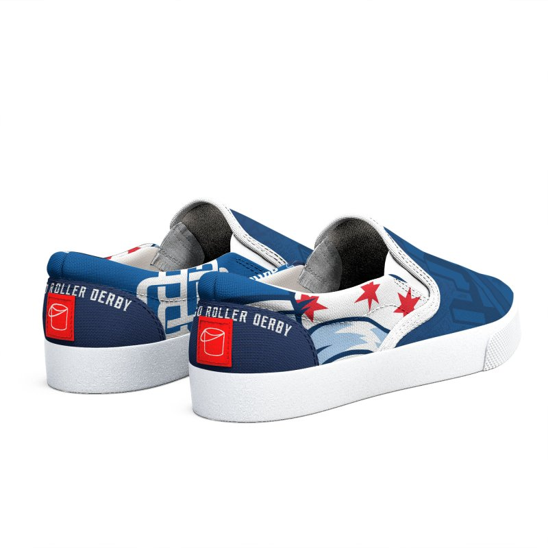 Navy Skyline Women's Shoes by Chicago Bruise Brothers Roller Derby
