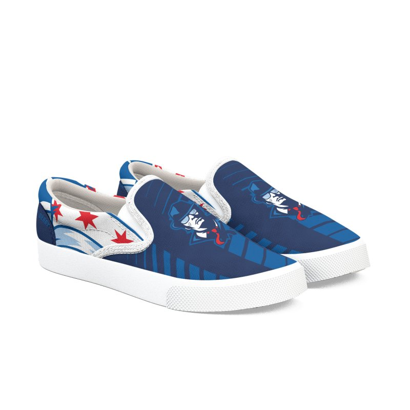 Bruiser Women's Slip-On Shoes by Chicago Bruise Brothers Roller Derby