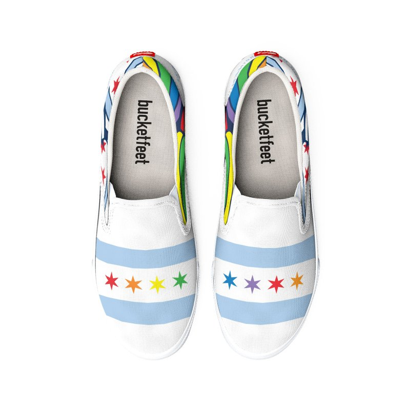 Chicago Pride Men's Shoes by Chicago Bruise Brothers Roller Derby