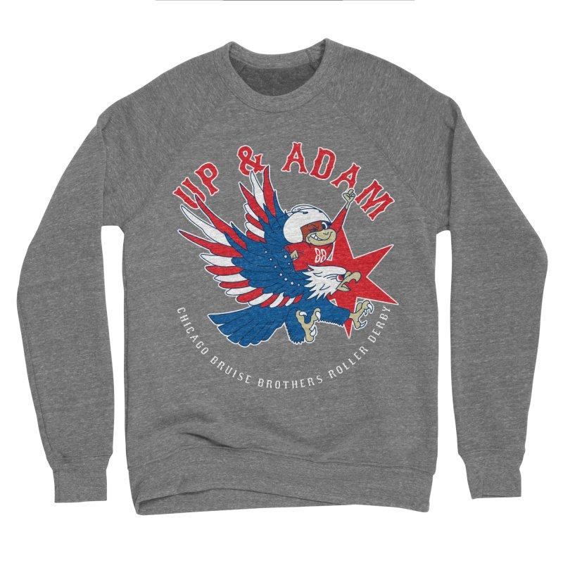 Skater Series: Up & Adam Men's Sponge Fleece Sweatshirt by Chicago Bruise Brothers Roller Derby
