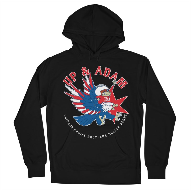 Skater Series: Up & Adam Women's French Terry Pullover Hoody by Chicago Bruise Brothers Roller Derby