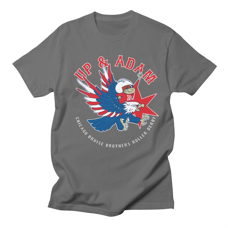 Skater Series: Up & Adam Women's Regular Unisex T-Shirt by Chicago Bruise Brothers Roller Derby