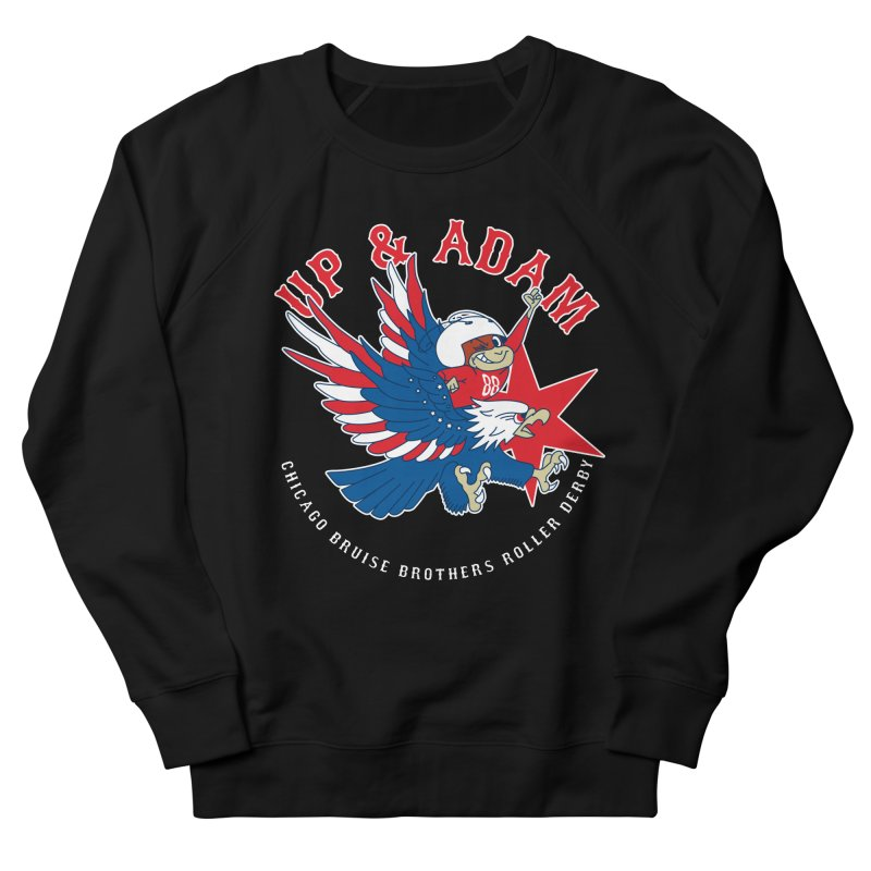 Skater Series: Up & Adam Men's French Terry Sweatshirt by Chicago Bruise Brothers Roller Derby