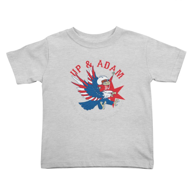 Skater Series: Up & Adam Kids Toddler T-Shirt by Chicago Bruise Brothers Roller Derby