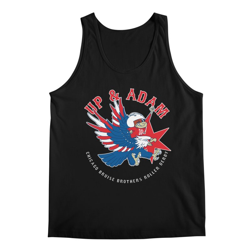 Skater Series: Up & Adam Men's Regular Tank by Chicago Bruise Brothers Roller Derby