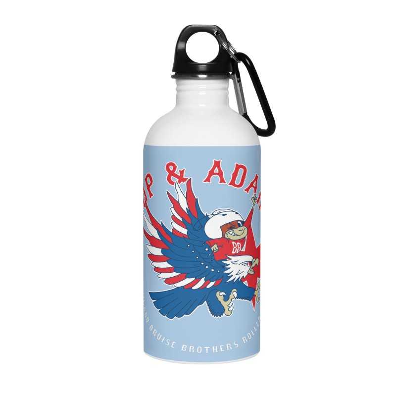 Skater Series: Up & Adam Accessories Water Bottle by Chicago Bruise Brothers Roller Derby