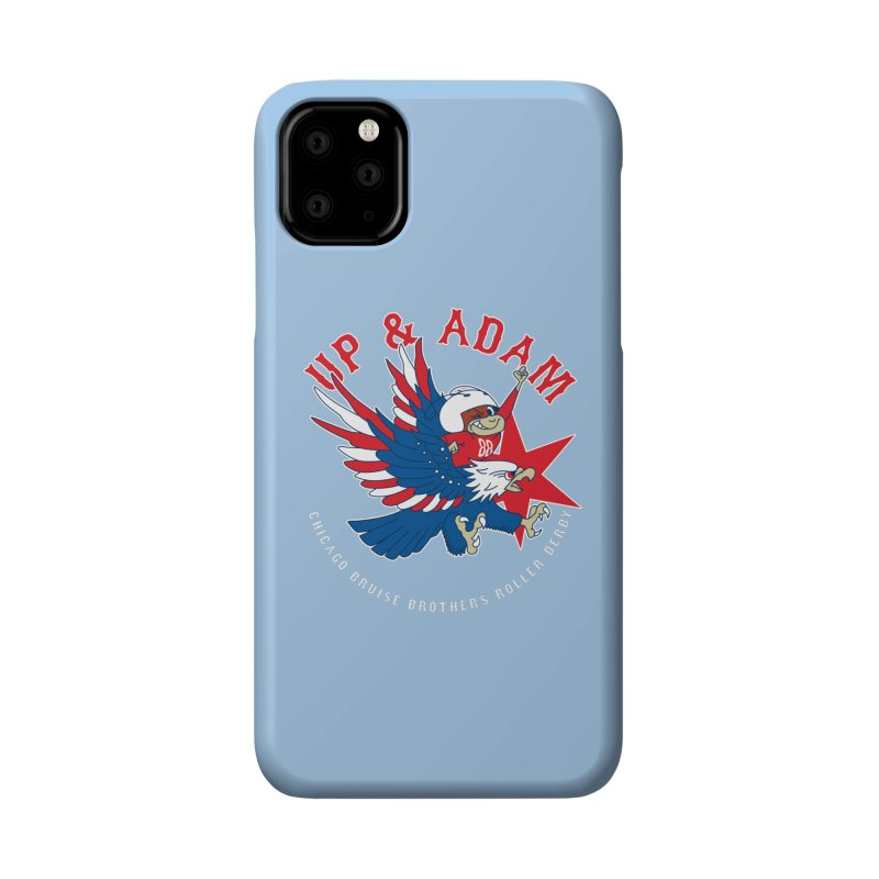 Skater Series: Up & Adam Accessories Phone Case by Chicago Bruise Brothers Roller Derby