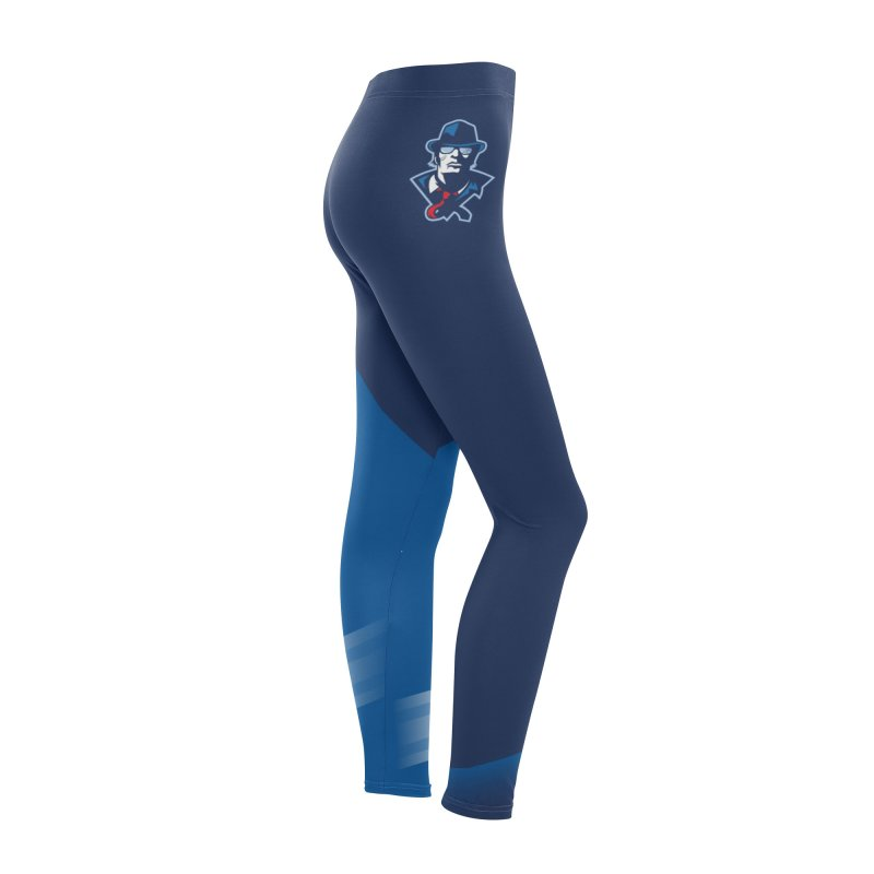CBB Leggings Women's Bottoms by Chicago Bruise Brothers Roller Derby