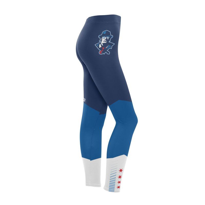 Leggings 4 Women's Bottoms by Chicago Bruise Brothers Roller Derby