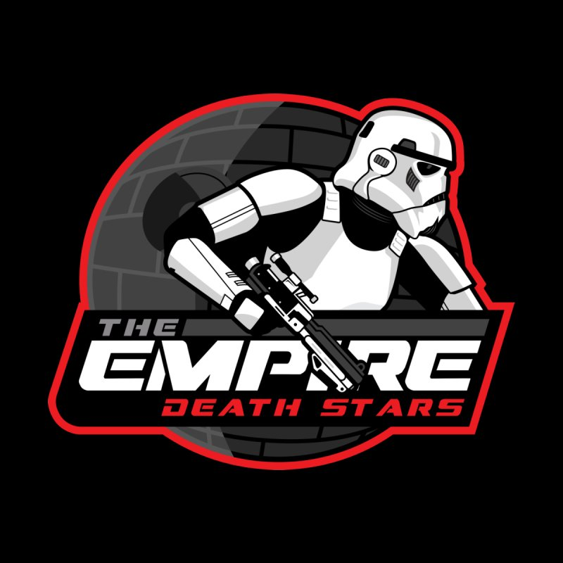 The Empire Death Stars Home Bath Mat by Chicago Bruise Brothers Roller Derby