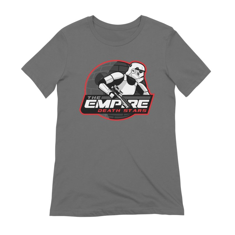 The Empire Death Stars Women's Extra Soft T-Shirt by Chicago Bruise Brothers Roller Derby