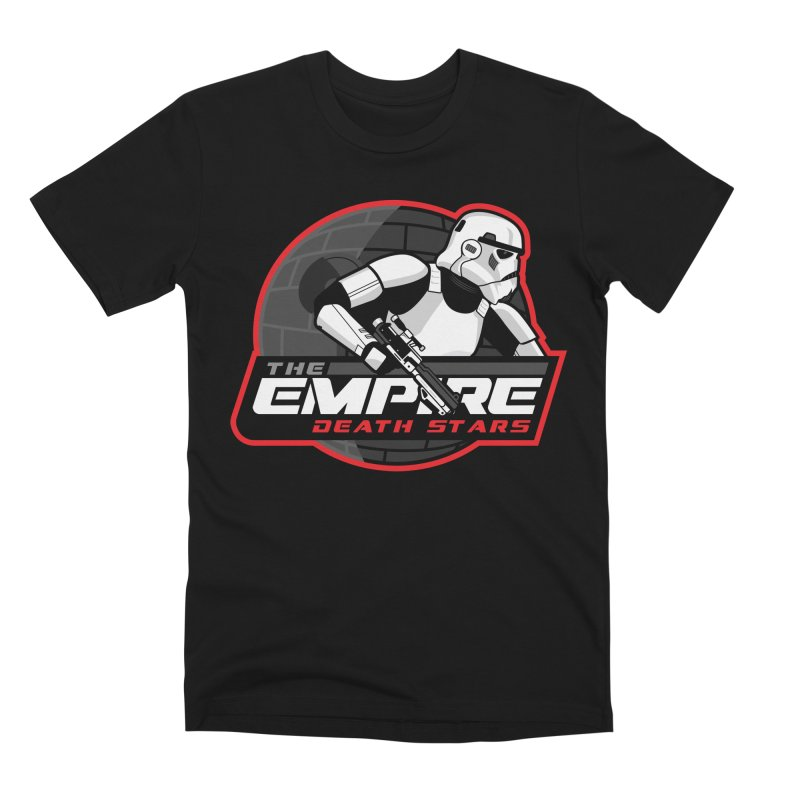 The Empire Death Stars Men's Premium T-Shirt by Chicago Bruise Brothers Roller Derby