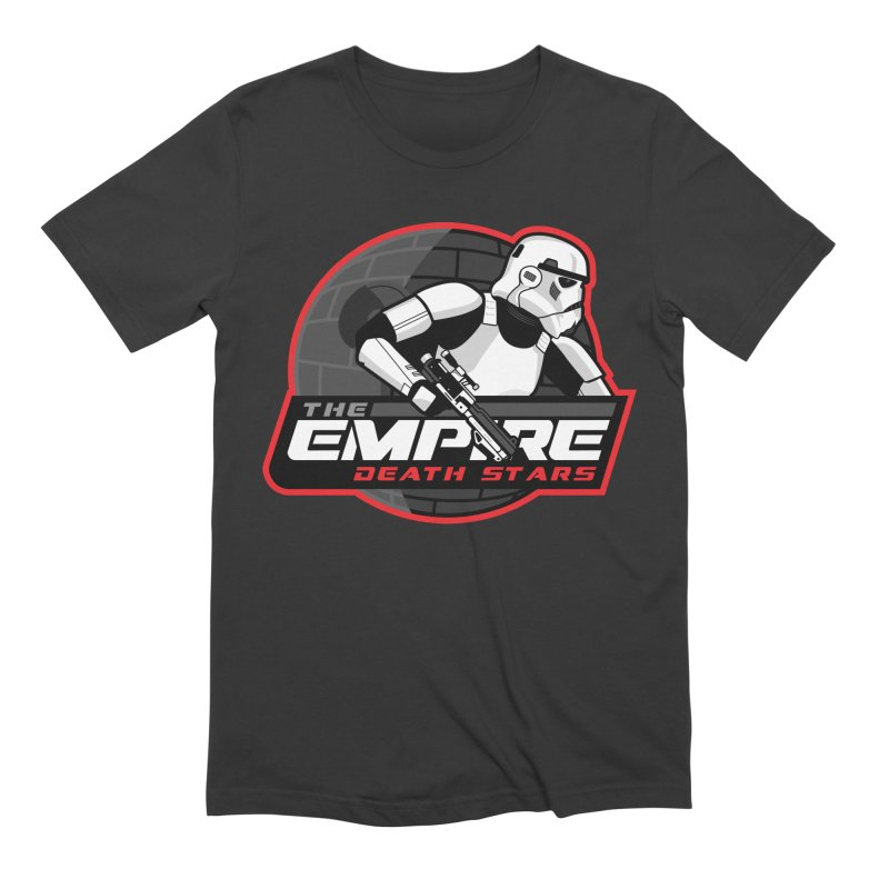 The Empire Death Stars Men's Extra Soft T-Shirt by Chicago Bruise Brothers Roller Derby