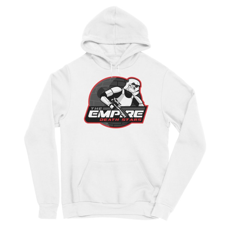 The Empire Death Stars Men's Pullover Hoody by Chicago Bruise Brothers Roller Derby
