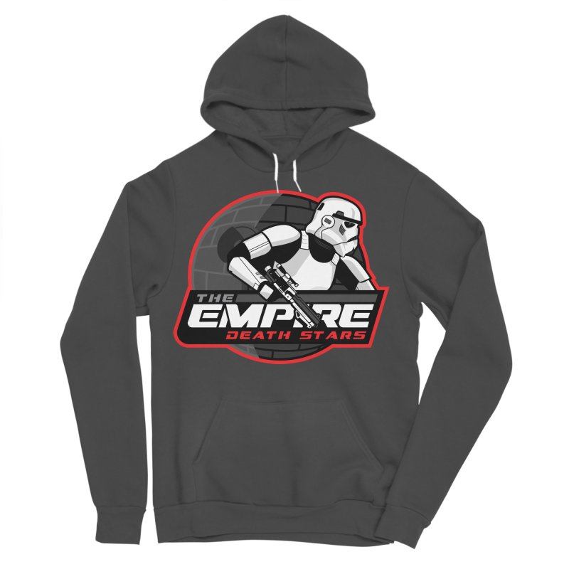 The Empire Death Stars Women's Sponge Fleece Pullover Hoody by Chicago Bruise Brothers Roller Derby