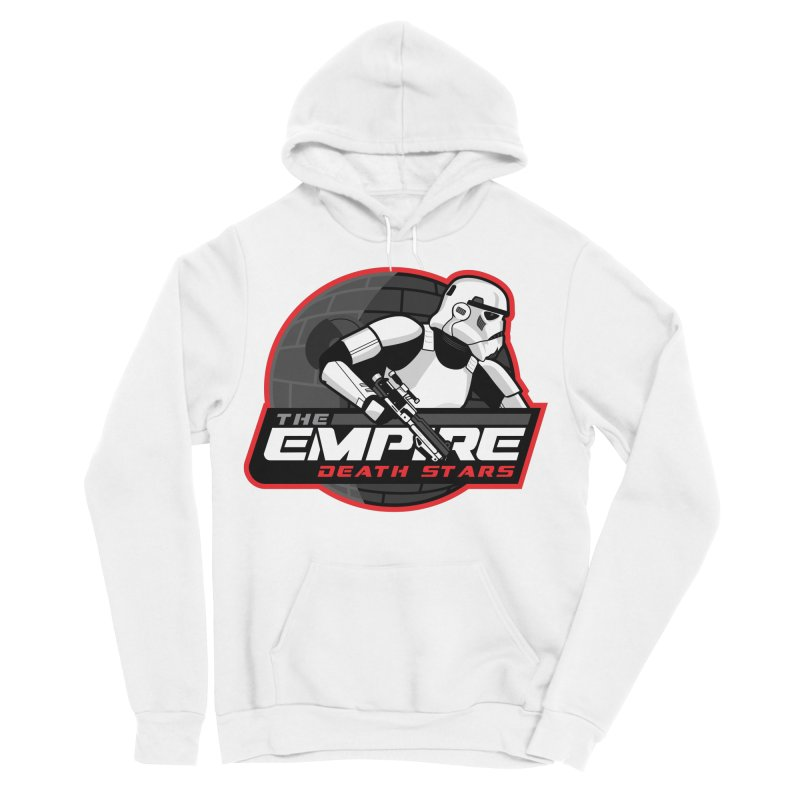 The Empire Death Stars Men's Sponge Fleece Pullover Hoody by Chicago Bruise Brothers Roller Derby