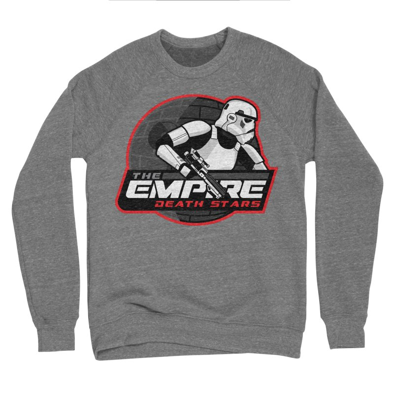 The Empire Death Stars Men's Sponge Fleece Sweatshirt by Chicago Bruise Brothers Roller Derby