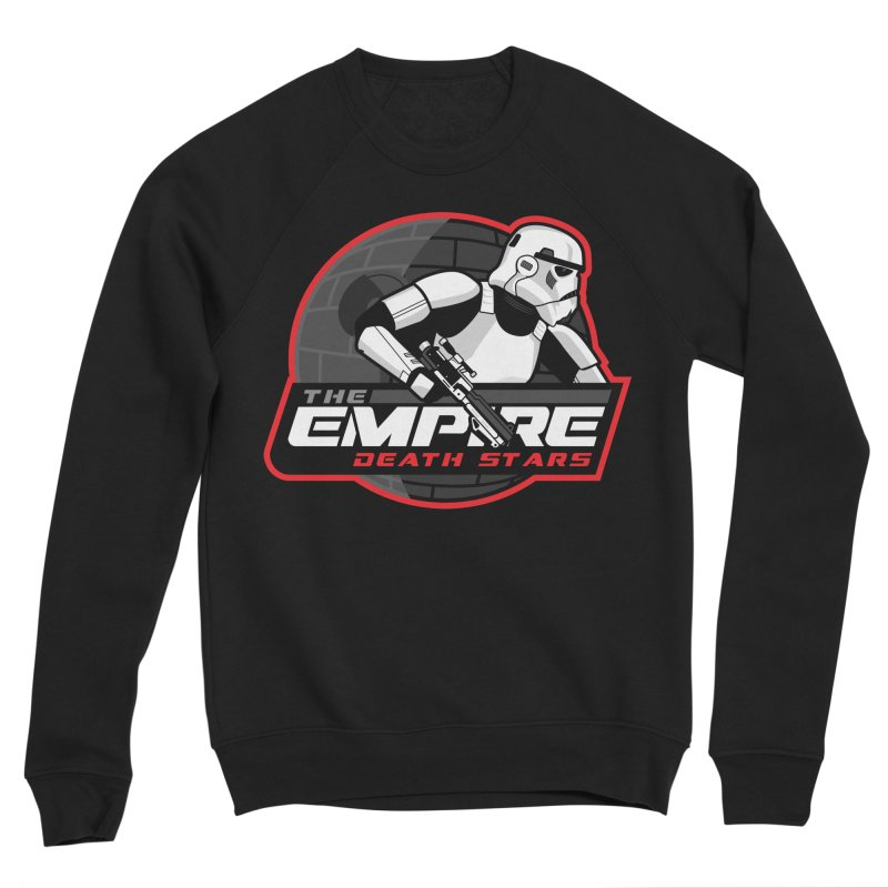 The Empire Death Stars Women's Sponge Fleece Sweatshirt by Chicago Bruise Brothers Roller Derby