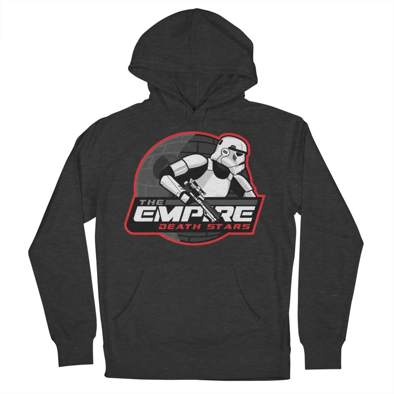 The Empire Death Stars Men's French Terry Pullover Hoody by Chicago Bruise Brothers Roller Derby