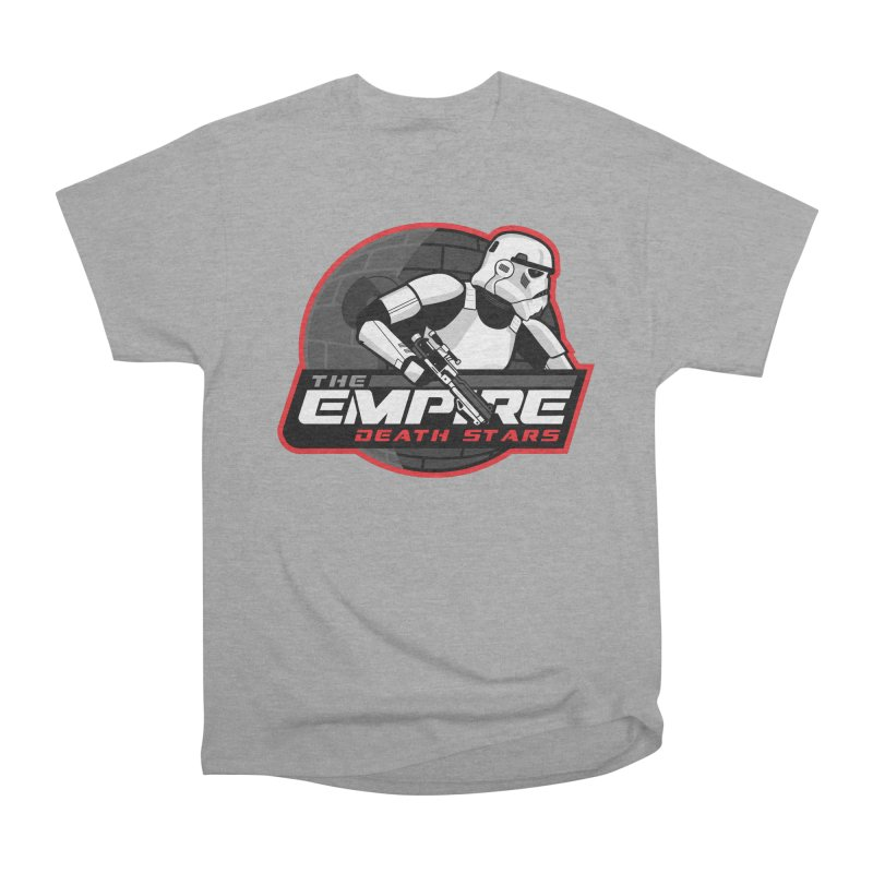 The Empire Death Stars Men's Heavyweight T-Shirt by Chicago Bruise Brothers Roller Derby