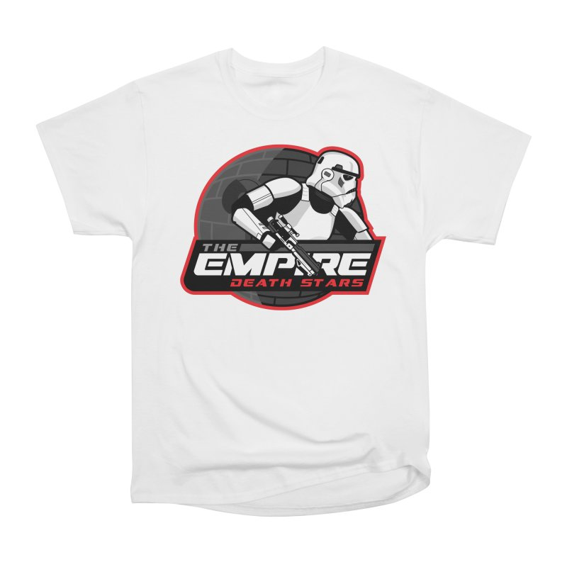 The Empire Death Stars Women's Heavyweight Unisex T-Shirt by Chicago Bruise Brothers Roller Derby