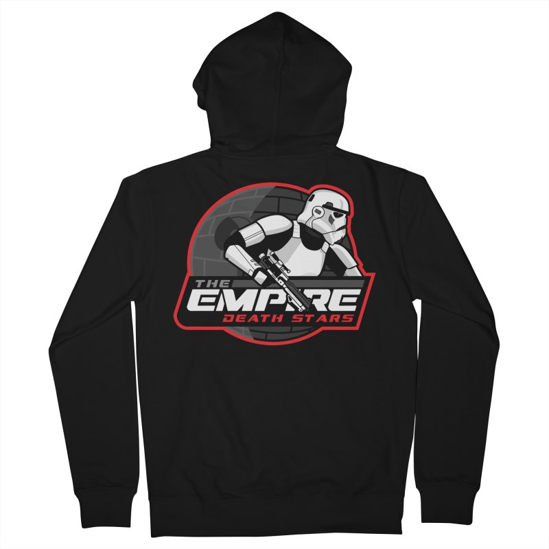 The Empire Death Stars Women's French Terry Zip-Up Hoody by Chicago Bruise Brothers Roller Derby