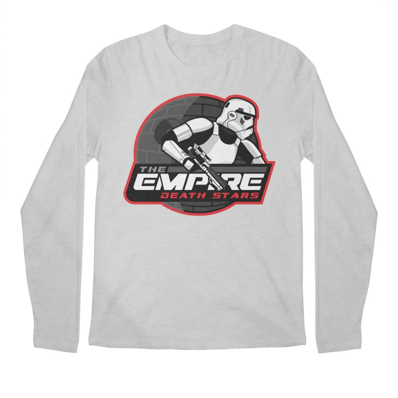 The Empire Death Stars Men's Regular Longsleeve T-Shirt by Chicago Bruise Brothers Roller Derby