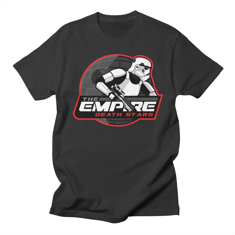 The Empire Death Stars Women's Regular Unisex T-Shirt by Chicago Bruise Brothers Roller Derby
