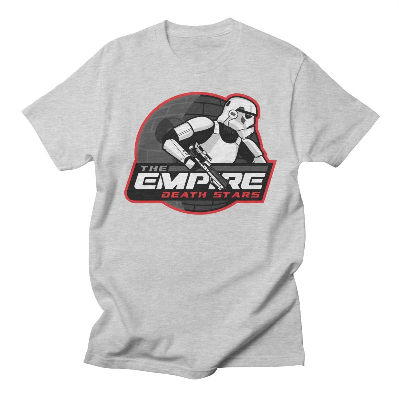 The Empire Death Stars Men's Regular T-Shirt by Chicago Bruise Brothers Roller Derby