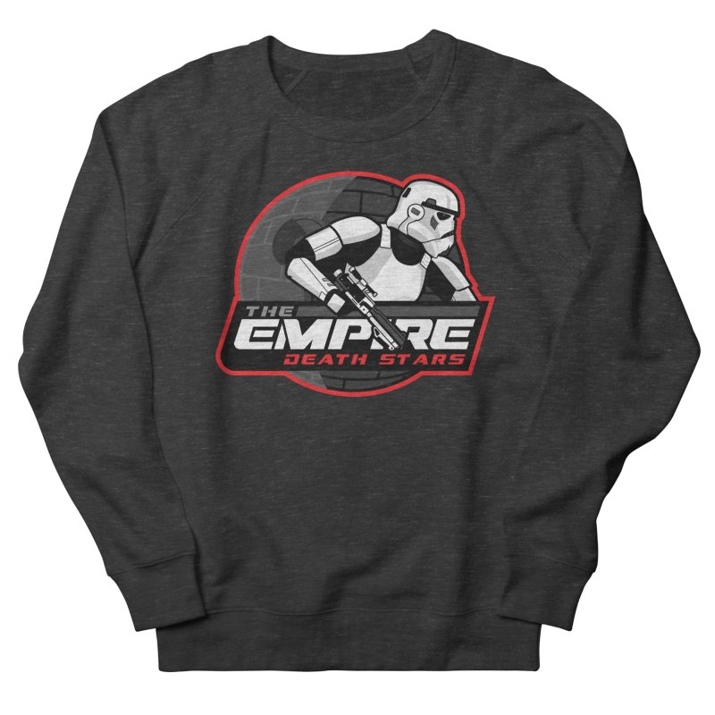 The Empire Death Stars Women's French Terry Sweatshirt by Chicago Bruise Brothers Roller Derby