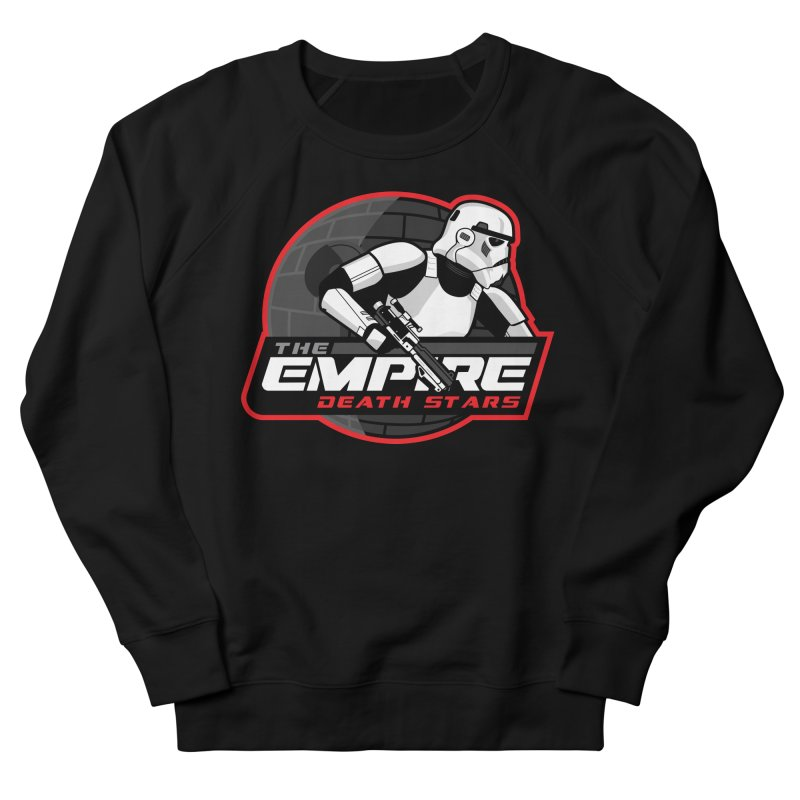 The Empire Death Stars Men's Sweatshirt by Chicago Bruise Brothers Roller Derby