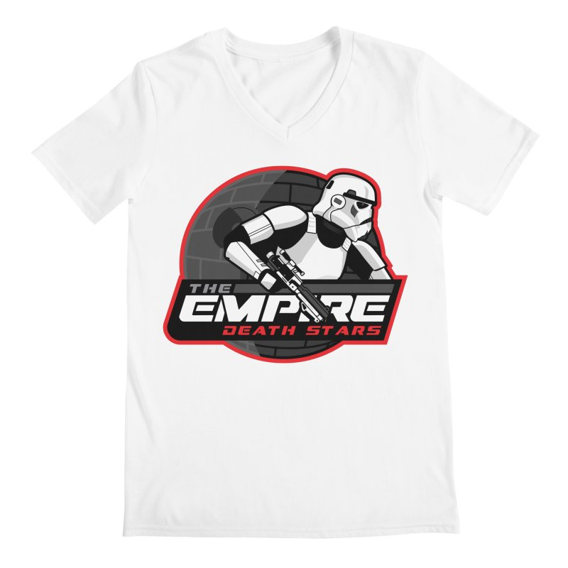 The Empire Death Stars Men's V-Neck by Chicago Bruise Brothers Roller Derby