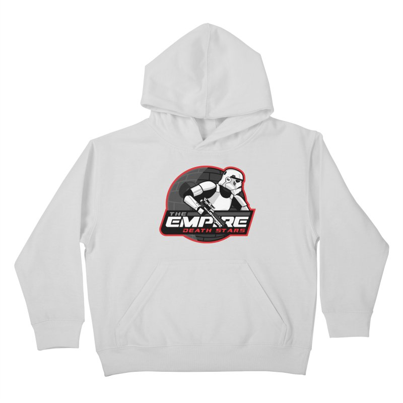 The Empire Death Stars Kids Pullover Hoody by Chicago Bruise Brothers Roller Derby